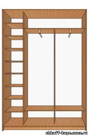 Мебель - кухни, шкафы купе: эскиз шкафа купе.